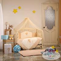 Детский комплект постельного белья Tiny Love цвет шоколадный