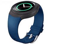 Силиконовый ремешок Primo для часов Samsung Gear S2 Sports SM-R720 / SM-R730 Dark Blue