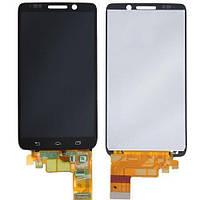 Дисплей (экран) для Motorola XT1030 Droid Mini + с сенсором (тачскрином) черный