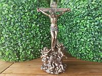 """Статуэтка Veronese """"Иисус на кресте"""" (28 см) 75275 A1. Пасхальные сувениры"""