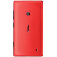 Задняя крышка для Nokia Lumia 520 красная