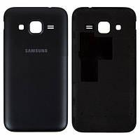 Задняя крышка для Samsung G360F Galaxy Core Prime LTE, G360H Galaxy Core Prime черная