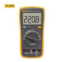 Fluke 15B + Цифровой мультиметр для переменного и постоянного измерения тока до 10 А тока. Проверка диодов