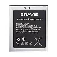 Аккумулятор (Батарея) для Bravis Vista (1700 mAh)