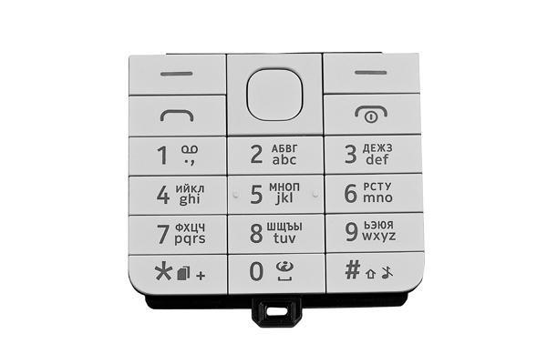 Клавиатура (кнопки) Nokia 220 Dual Sim белая  продажа, цена в Киеве ... 265bba05bc6