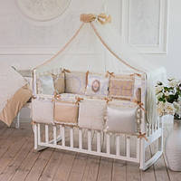 Балдахин на детскую кроватку  Mon Cheri цвет Кофейный