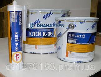 Герметизирующий клей (для битумной черепицы), производство RUFLEX - (10л)