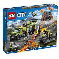 LEGO 60124 City  База исследований вулканов (Lego City 60124 Volcano Exploration Base )