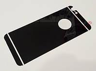 Защитное стекло заднее черное для iPhone 6/6s
