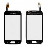 Сенсор (тачскрин) Samsung I8160 Galaxy Ace II черный
