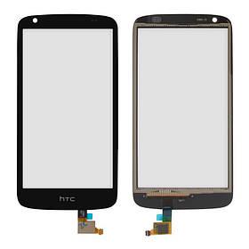 Сенсор (тачскрин) для HTC 326G Desire Dual Sim черный