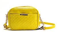 Женская сумка-клатч из искусственной кожи 8-797478 Желтый