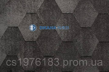 Коньково-карнизная черепица RUFLEX (производство Katepal OY)  - Серый (Jazzy)