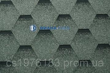 Коньково-карнизная черепица RUFLEX (производство Katepal OY)  - Лишайник (Katrilli)