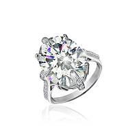 Серебряное кольцо с фианитом КК2Ф/394 - 18,7