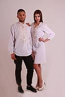 Парні вишиванки.Сукня жіноча + сорочка чоловіча МВ-06пс 608684b2fad3b