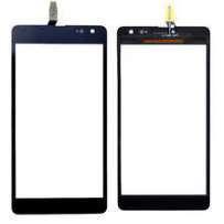 Сенсор (тачскрин) для Microsoft (Nokia) 535 Lumia Dual Sim (RM-1090) (CT2S1973FPC-A1-E) черный Оригинал