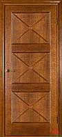 Двери межкомнатные Адант дуб тонированный ПГ
