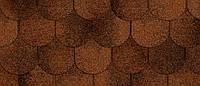 Битумная черепица RUFLEX ORNAMI - Красная глина
