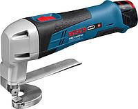 Аккумуляторные ножницы листовые Bosch GSC 10,8 V-LI