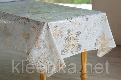 Клеенка для стола Ажур Лейс Бабочки, очень нежная и красивая, фото 2