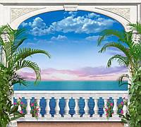 Картина из акриловых камней Вид на закат DM-082 (50 х 45 см) ТМ Алмазная мозаика