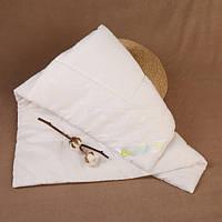Одеяло Демисезон ecotton 140×110 см цвет Белый