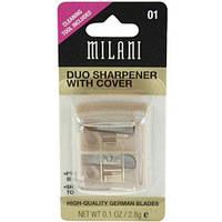 Milani Duo Sharpener подвійна стругалка для косметичних олівців