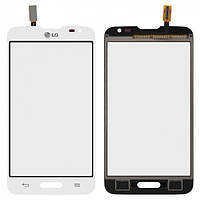 Сенсор (тачскрин) для LG D320 Optimus L70, D321 Optimus L70, MS323 Optimus L70 белый Оригинал