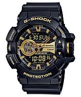 Мужские часы Casio G-SHOCK GA-400GB-1A9 Касио противоударные японские кварцевые