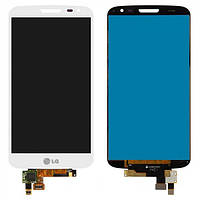 Дисплей (экран) для LG LG D618/D620 G2 mini Dual SIM + с сенсором (тачскрином) белый Оригинал