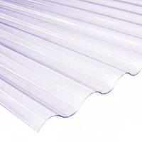 Волнопласт (шифер ПВХ) 2 *20 м. белый волновой
