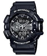 Мужские часы Casio G-SHOCK GA-400GB-1A Касио противоударные японские кварцевые