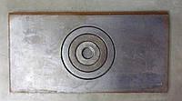 Плита чугунная для печи 620x320cm
