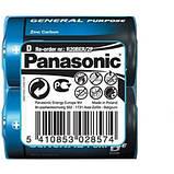 """Батарейки """"PANASONIC"""" General Purpose R20 Tray (2 шт/уп) Zink Carbon (бочка), фото 3"""