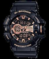 Мужские часы Casio G-SHOCK GA-400GB-1A4 Касио противоударные японские кварцевые