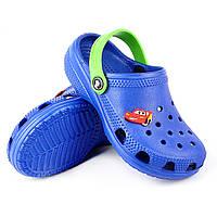 Пляжная детская обувь из эва синие
