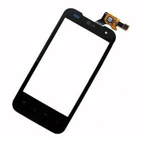 Сенсор (тачскрин) LG P990 Optimus 2/P999 Optimus G2x черный