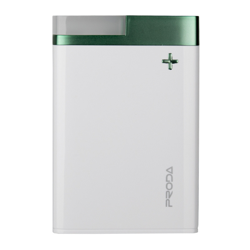 PowerBank Proda Crave PPL-20 12000mAh Green