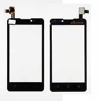 Сенсор (тачскрин) Prestigio MultiPhone 4505 Duo, Coolpad 7290 Black