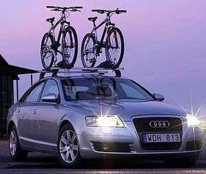 Крепления велосипедов на крышу