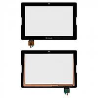 Сенсор (тачскрин) для планшета Lenovo IdeaTab A7600 черный