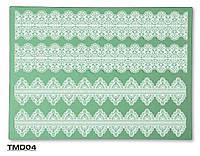 Коврик силиконовый для кружевного декора №4 (300*400мм)