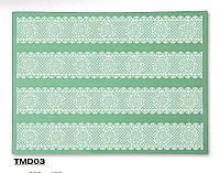 Коврик силиконовый для кружевного декора №3 (300*400мм)