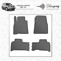 Автомобильные коврики Stingray Lexus LX 570 2008-2014
