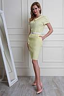 Очень красивое платье полубатальных размеров из турецкого льна Размеры: 46,48,50