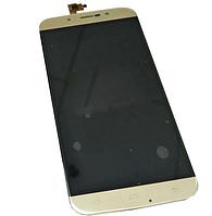 Оригинальный дисплей (модуль) + тачскрин (сенсор) для UMi Rome X (золотой цвет)