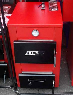 Carbon КСТО 20Д-new твердотопливный дровяной котел , фото 2