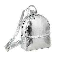 Рюкзак Fancy mini серебряный платон