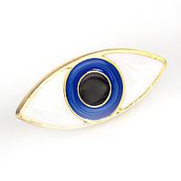 Значок Голубой глаз Pin Up Hot Punk Collection, фото 1
